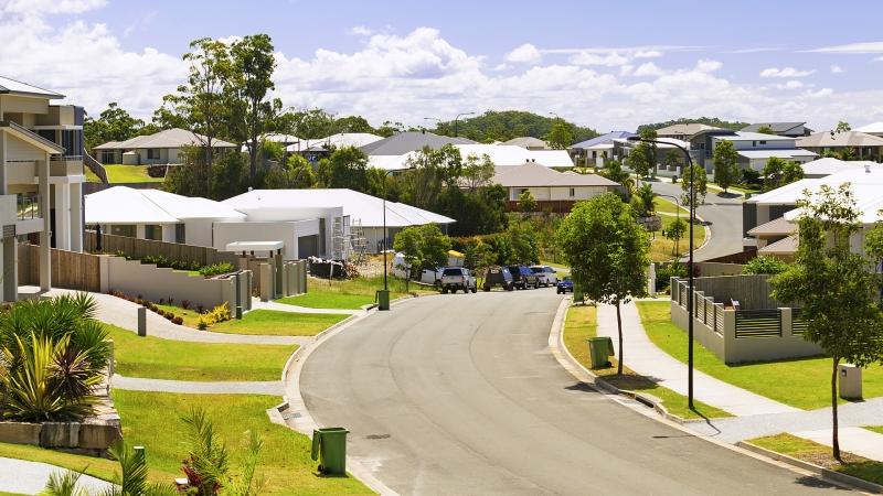 Suburban Australian street